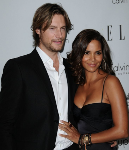 Helle Berry and Gabriel Aubry